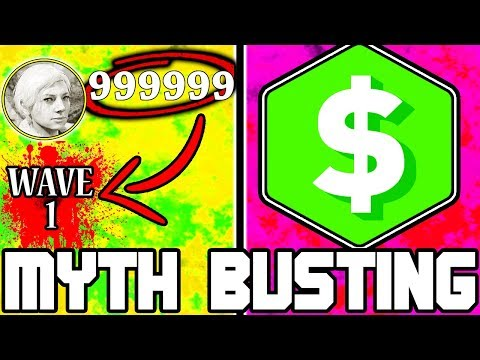 UNLIMITED MONEY!!! | CALL OF DUTY ZOMBIES | MYTH BUSTING MONDAYS #108
