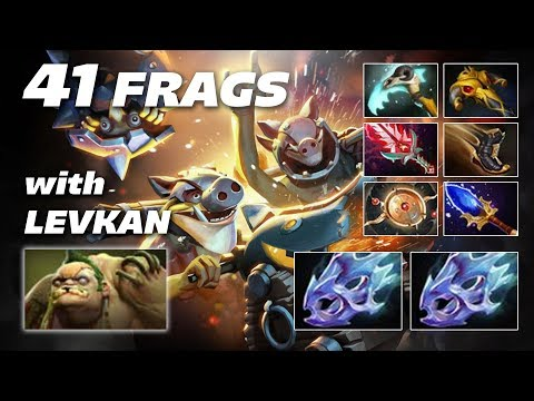 EPIC Techies 41 FRAGS with Levkan Pudge | Dota 2 Pro Gameplay