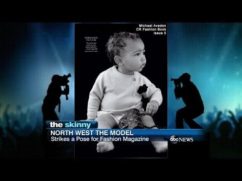 SKINNY: North West Lands First Modeling Job