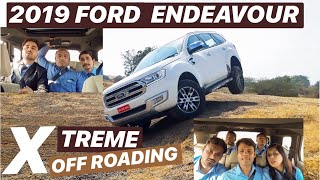 2019 FORD ENDEAVOUR 4X4 | EXTREME OFF ROAD | Left Lane Driver
