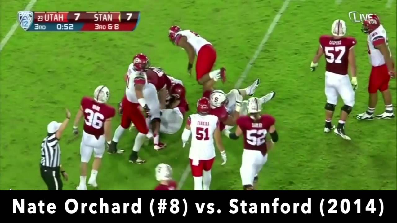 Nate Orchard vs Stanford (2014)