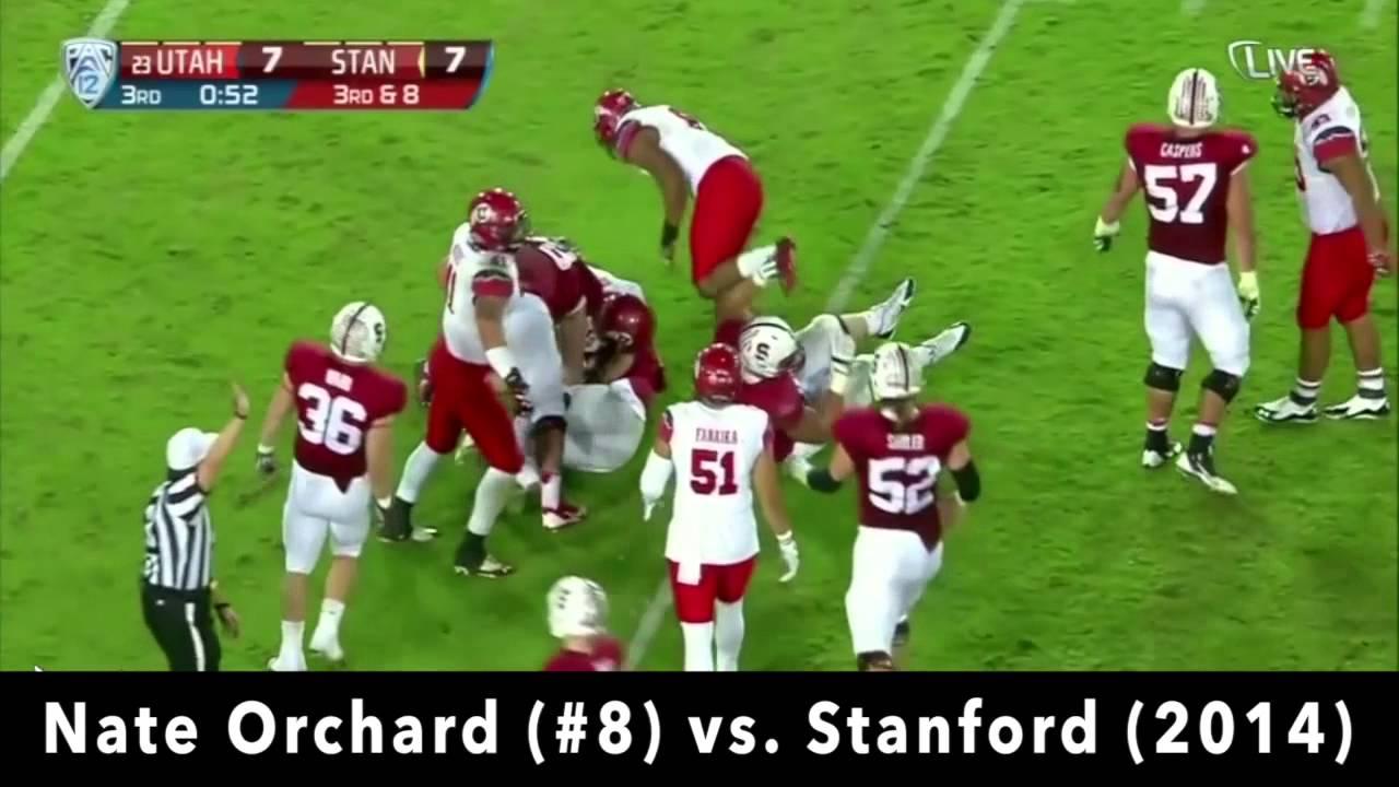 Nate Orchard vs Stanford (2014)