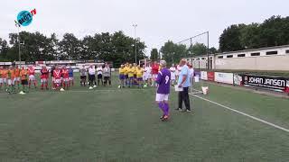 Eerste walking football toernooi van Heiloo (24 juni 2018)