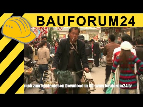 Shanghai Downtown Documentary - Street Life of modern & ancient China - Bauforum24 Report