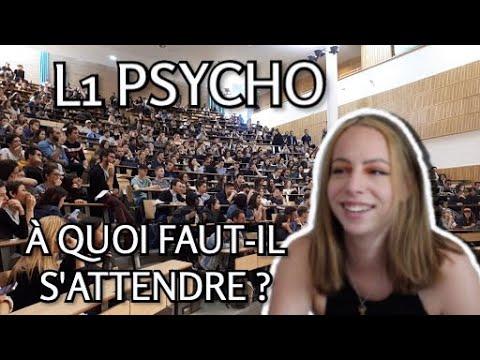 L1 PSYCHOLOGIE : LES COURS + MES CONSEILS