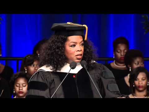 Oprah Winfrey Delivers Commencement Address to Class of 2012