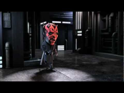 Brisk Star Wars: Yoda vs. Darth Maul - CZ