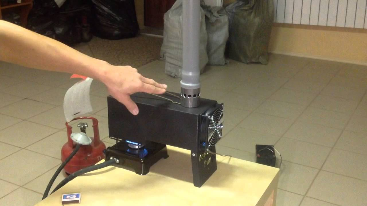 устройство теплообменника для рыбалки