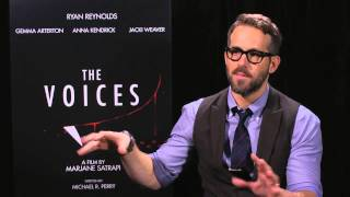 Ryan Reynolds Interview  - The Voices