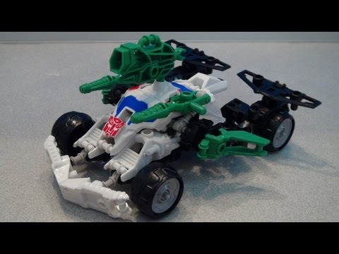 CONSTRUCTBOTS WHEELJACK TRANSFORMERS ELITE CLASS VIDEO REVIEW