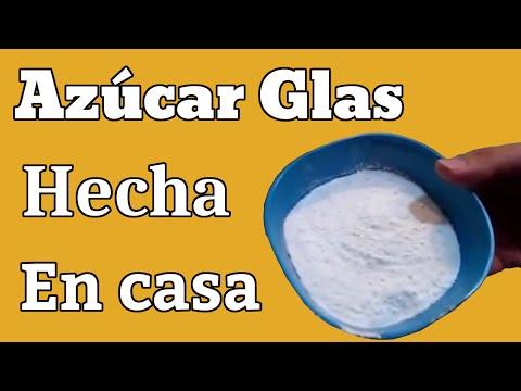 Como hacer azúcar glas en casa - DIY