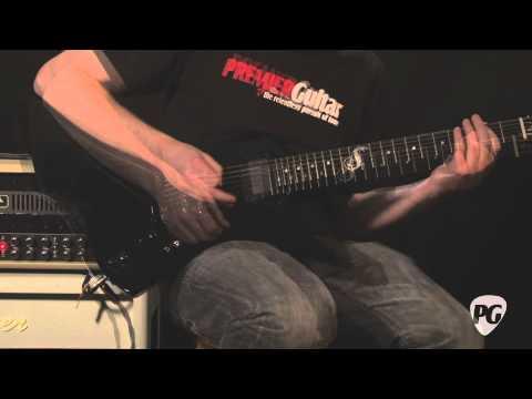Video Review - ESP Guitars James Hetfield Snakebyte Guitar