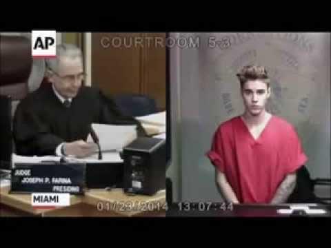 iLLuminati - Justin Bieber CLEAR Reptilian Eye Shift In Court!