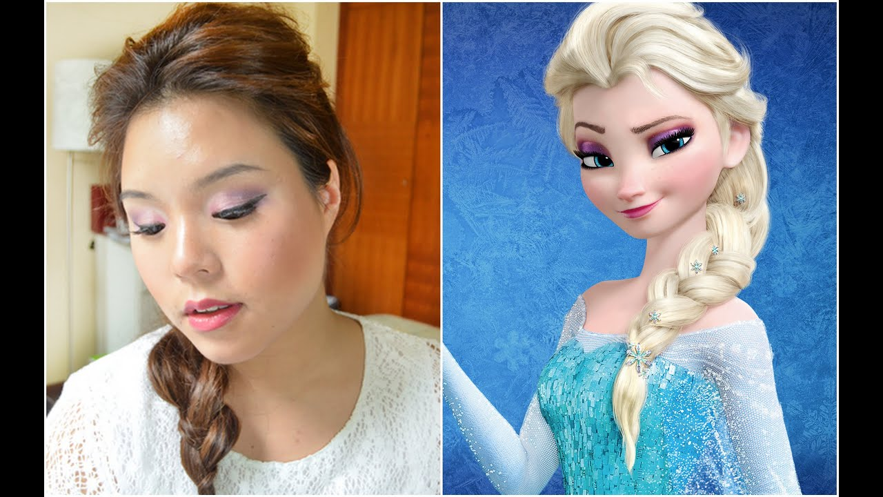Frozen Elsa Inspired Make-up