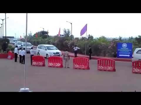 Convoy of the Vice - President of India Dr. Hamid Ansari