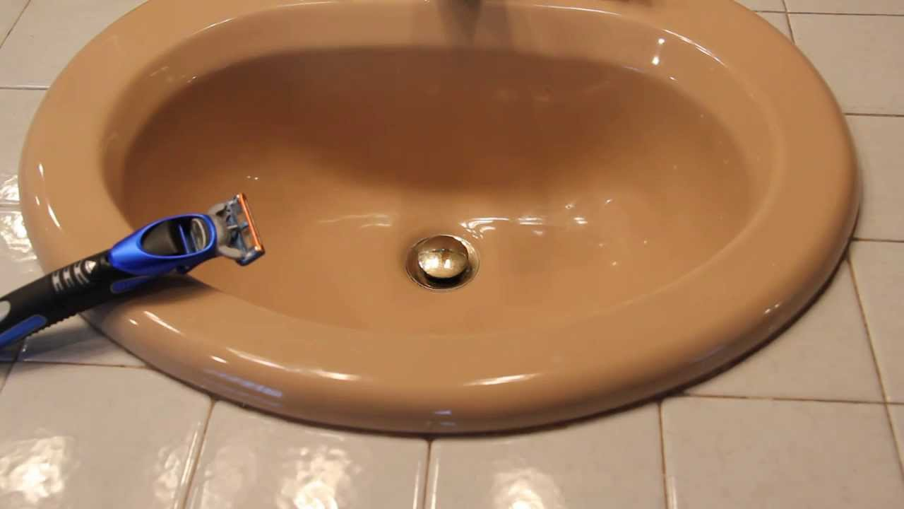 Cleaning a Gillette Fusion