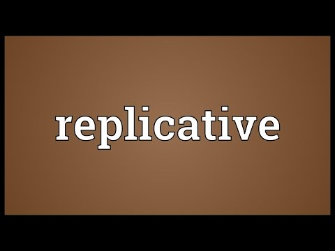Header of replicative