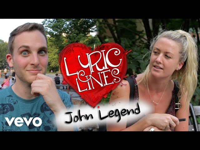 John Legend Lyrics Pick Up Girls? #VEVOLyricLines (Ep. 28)