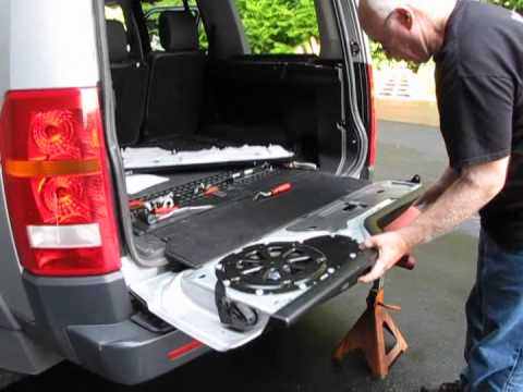 Land Rover Lr3 Tailgate Troubleshooting Youtube