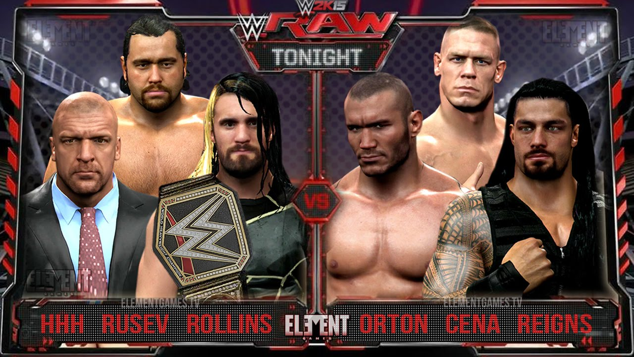 Wwe 2k15 Randy Orton vs John Cena John Cena Randy Orton