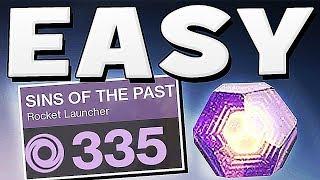 Destiny 2 - HOW TO GET EASY 335 DROP GUARANTEED !!