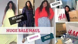 Huge Collective Sale Haul 2018 : H&M, Shein , Romwe, Lifestyle, Ajio, Max, Zudio |Priyanka Boppana