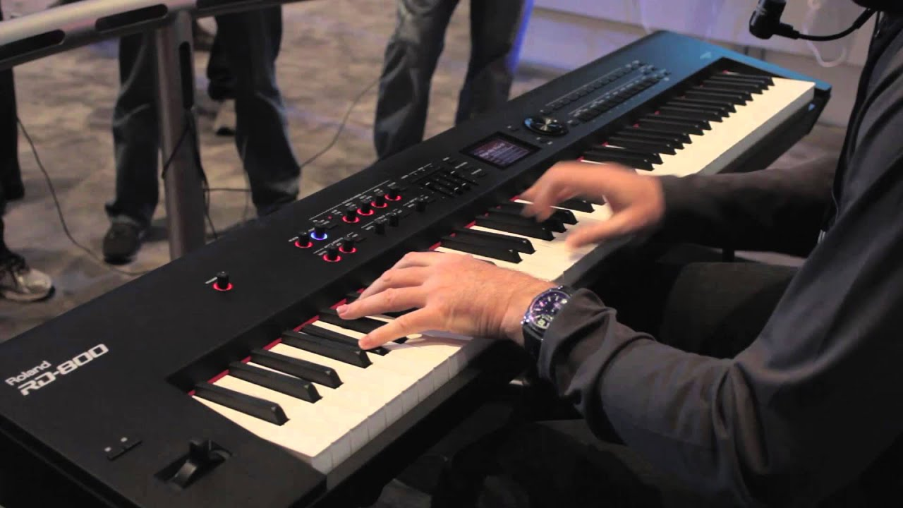 Roland Rd-800 Stage Piano Namm 2014