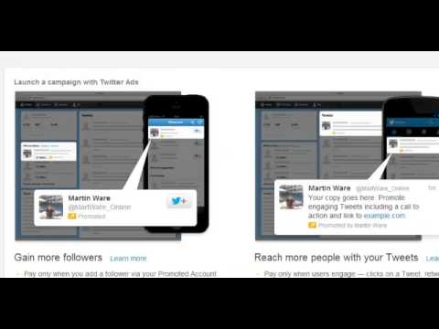 How To Use Twitter Pay Per Click Advertising For Your Business  Twitter Marketing Pt.1