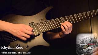 "Virgil Donati / In This Life ""Rhythm Zero"" guitar solo cover  / Strandberg BODEN8 TEST"