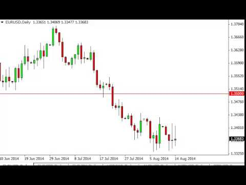 EUR/USD Technical Analysis for August 15, 2014 by FXEmpire.com