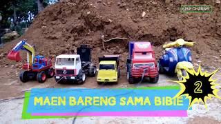 Mainan Bibie dari Vesva Sampai Excavator || Let's Go......