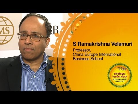 S Ramakrishna Velamuri, Professor, China Europe International Business School
