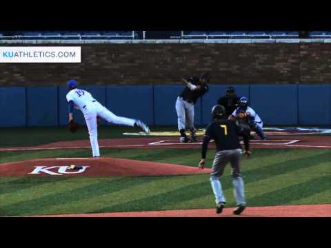 KU Baseball drops game 1 to Murray State 14-9 // Kansas Baseball // 3.15.16