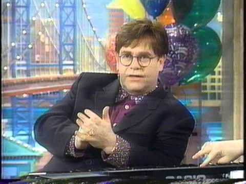 Elton John On The Rosie O'Donnell Show (03/19/99)