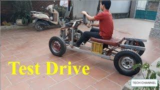 TECH - Test drive - the car homemade - Part 9