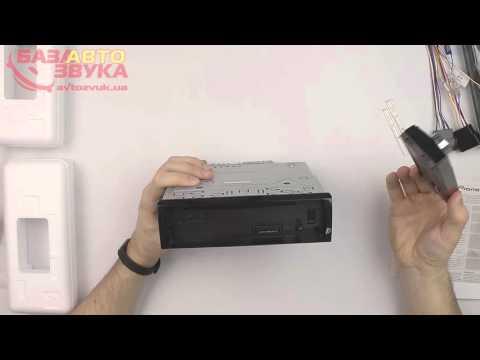 Автомагнитола Pioneer DEH-X3800UI с поддержкой iPod/iPhone
