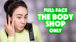 Full Face using only THE BODY SHOP Makeup - Hatice Schmidt