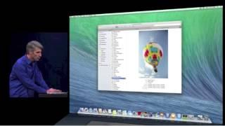 Apple introduces mac OS X Maverick's at WWDC