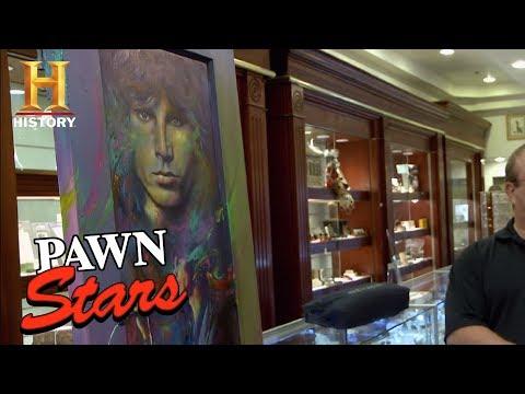 Jim Morrison Poster Pawn Stars Pawn Stars Jim Morrison Door