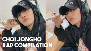 compilation of choi jongho rapping