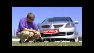Тест драйв  Mitsubishi Lancer 9  ч.2