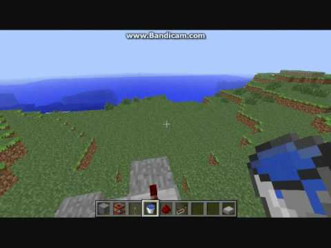 Minecraft- How to make a TNT cannon 1.0.0