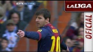 Gol de Lionel Messi 1-1 tras error defensivo del Real Madrid