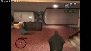 GTA SA : Grove Street vs Police Part 1