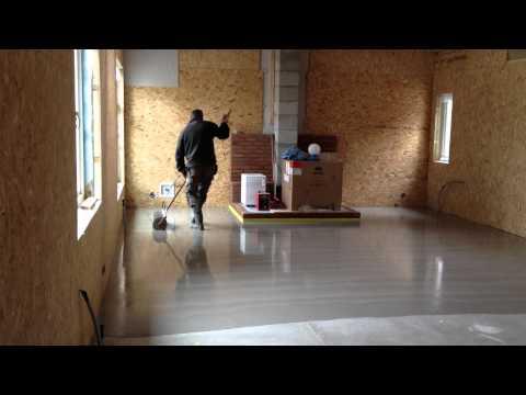 Flytspackling av golv