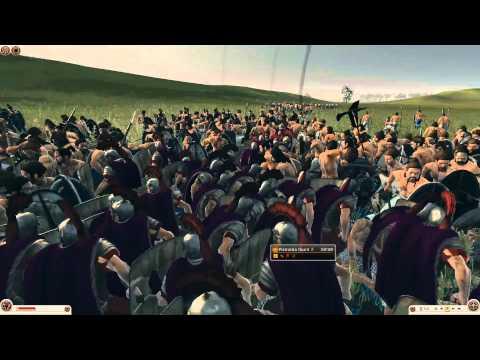 Rome 2: 160 Praetorians vs 3040 Levy Freeman
