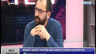 MURAT GEZİCİ YEREL SEÇİM ANKETİ - NOT DEFTERİ - 13.02.2019 [ MURAT GEZİCİ ]