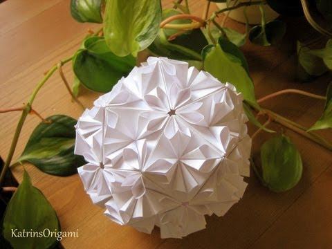 64637 Kusudama Visto  08:10 Mins  Loop veces kusudama asterix origami Origami