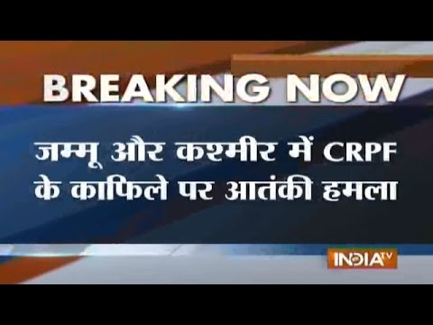 Militants Attack CRPF Convoy in Anantnag of Jammu & Kashmir