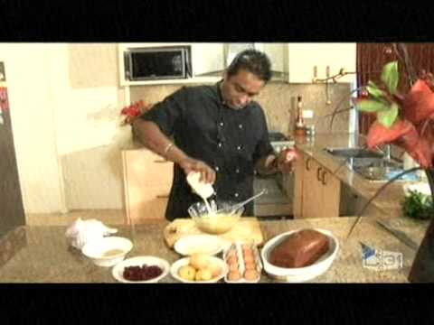 Chef Happyk Making A Butter Pudding At Culinary Corner - Sri Lanka Morning Show video